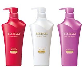 TSUBAKIのシャンプー